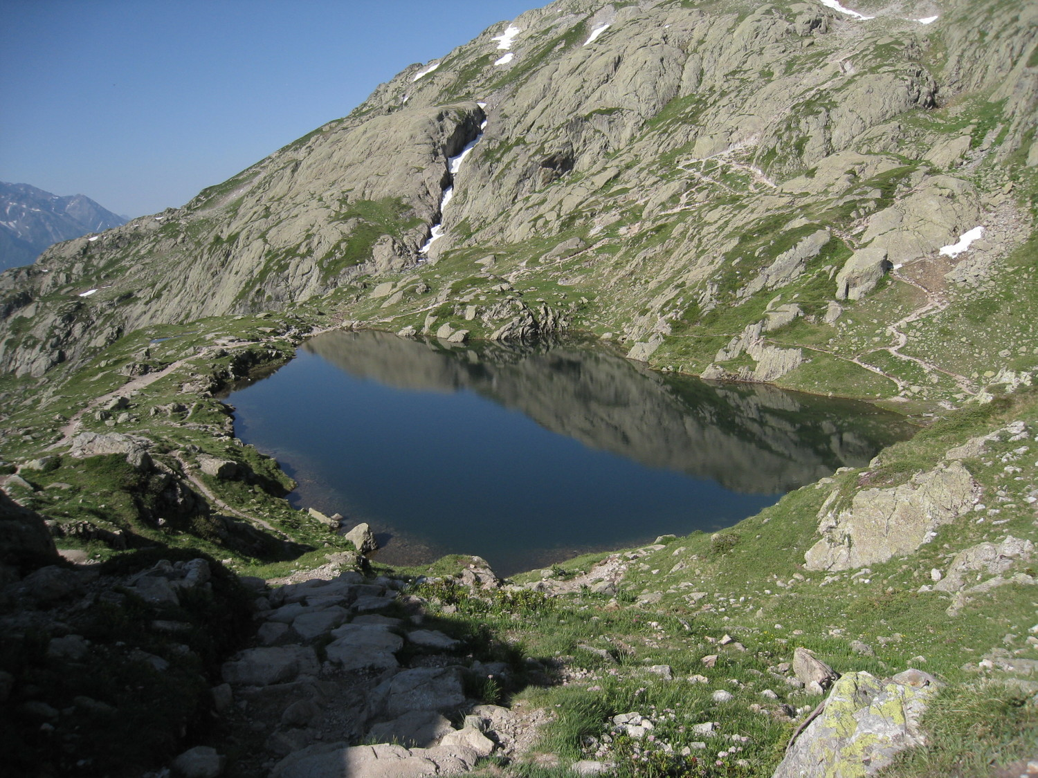Belvedere - lac Cheserys