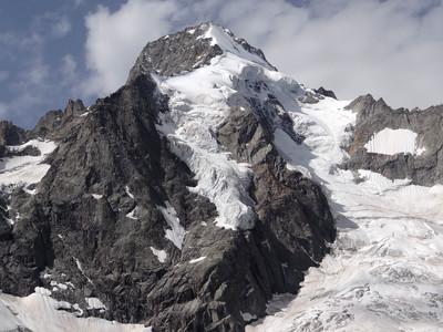 Mont Dolent l'autre partie du versant suisse