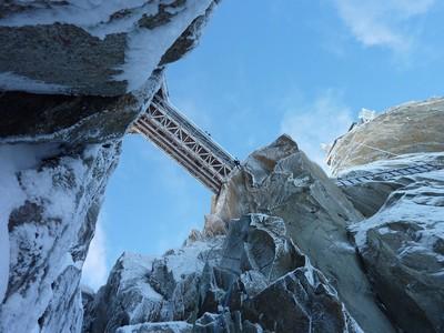 La Passerelle, Aiguille du Midi