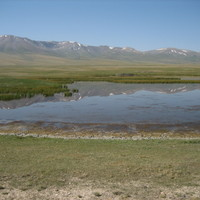 Aux abords du lac Song Kul