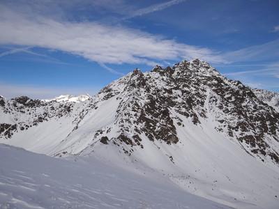 Col Léché et mont Faroma