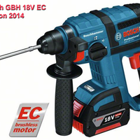 Perforateur Bosch GBH 18V EC - Version 2014