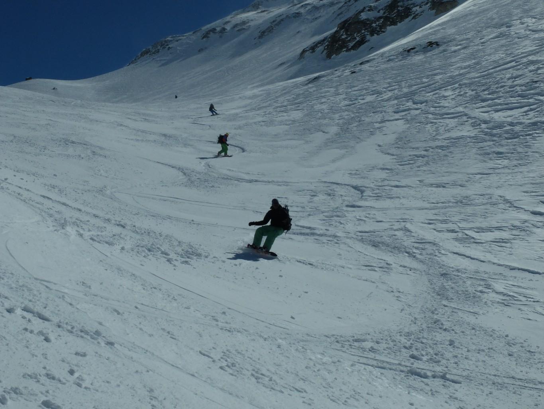 snowb in action