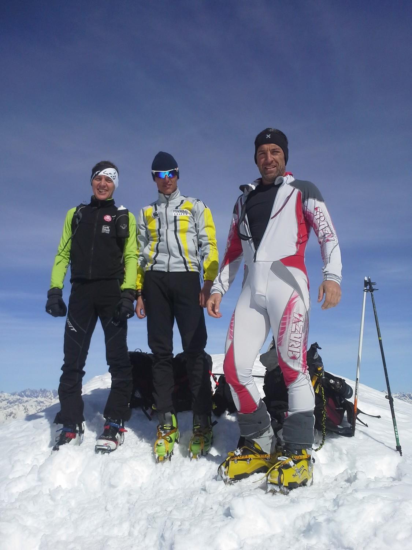 Luca, Mattia e Christian