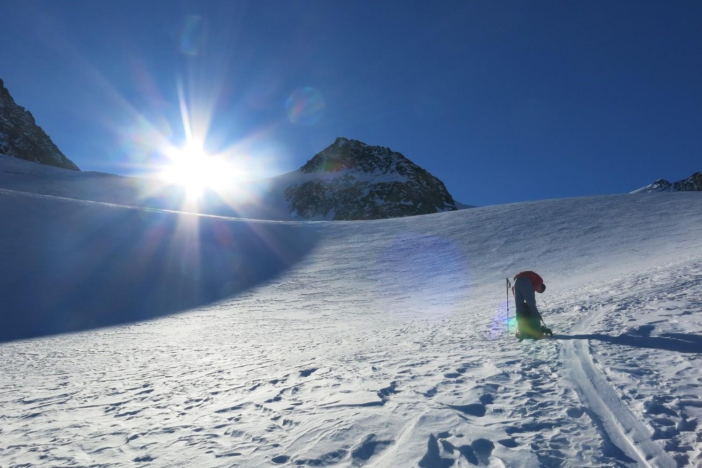 Sur le glacier de Boveire