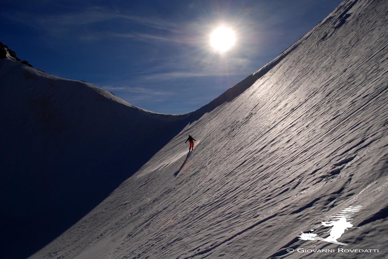 Il Passo della Forcola 2226m versante W (Svizzero)