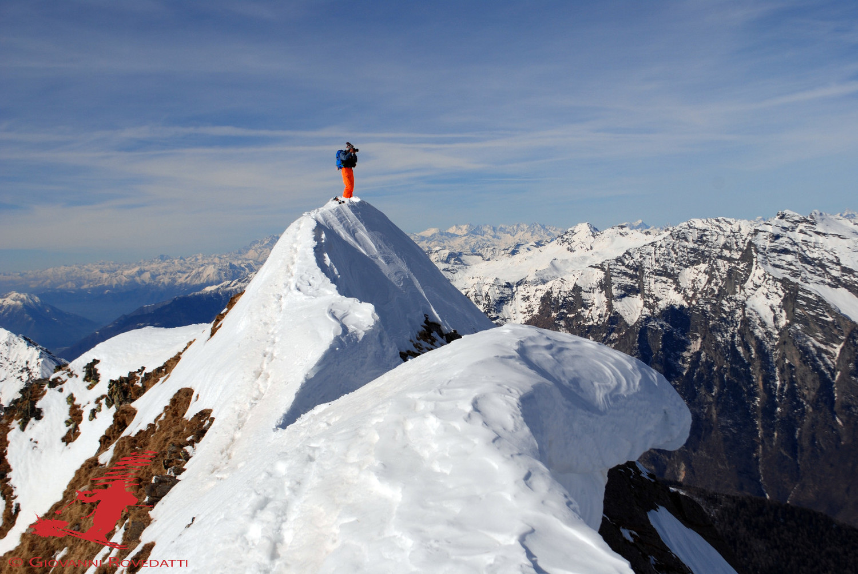 In cima al Piz Padion 2631m