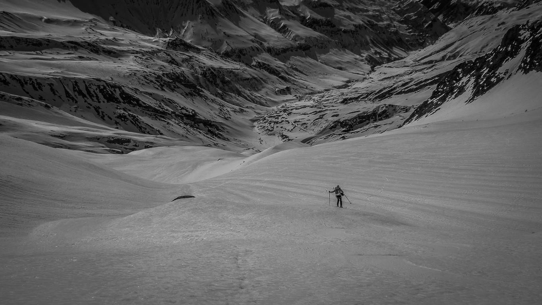 1600m de ski pas trop dégueu, belle matinée