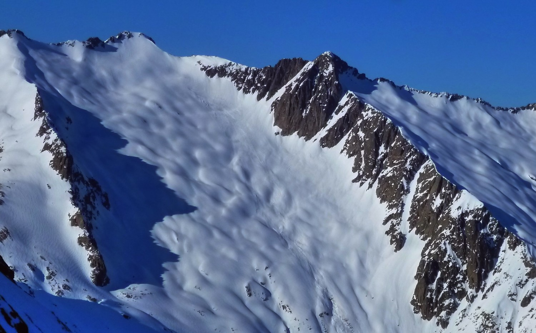 Bassiès, Raspe, Belcaire, et encorbade en neige