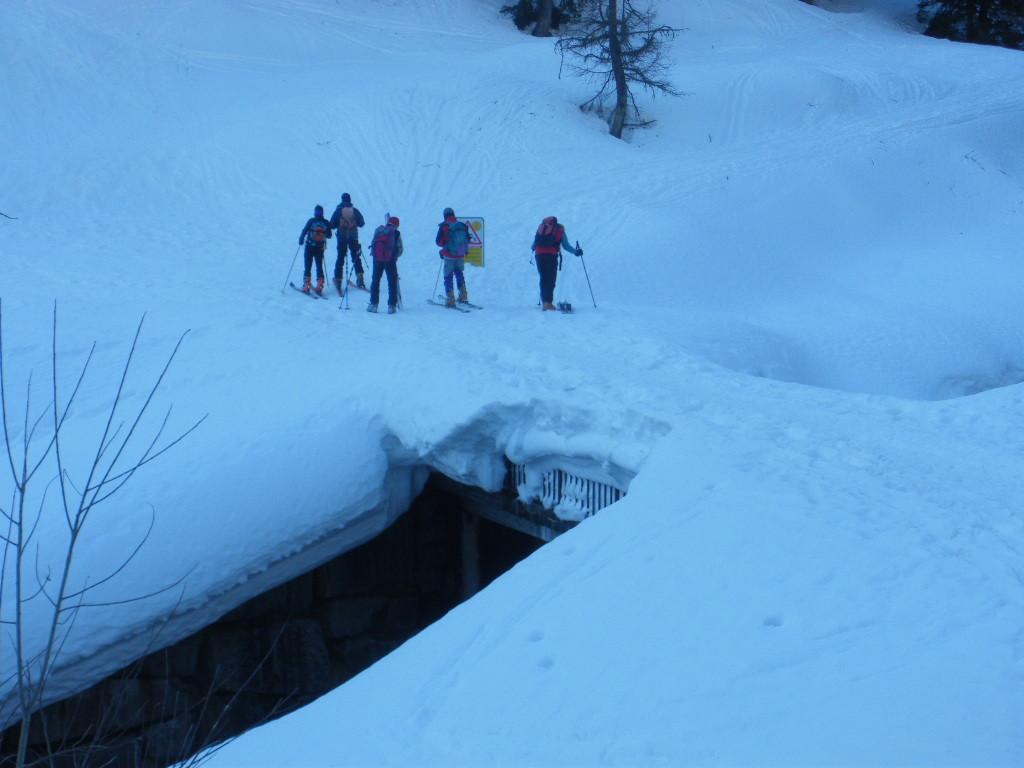 quantità della neve a All'Acqua