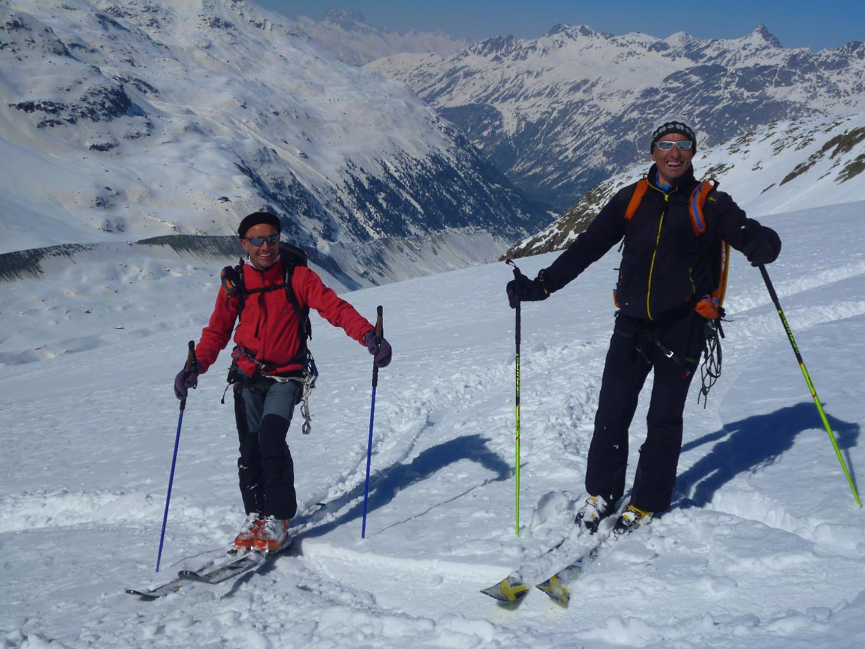 Piz Bernina: gli amici chiavennaschi