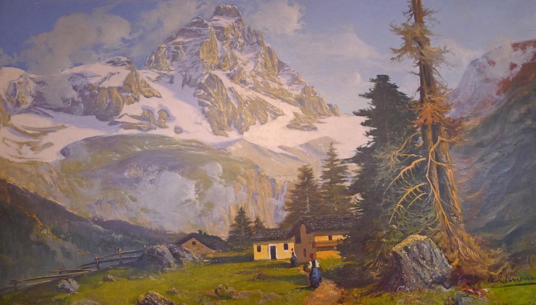 Névache en peinture