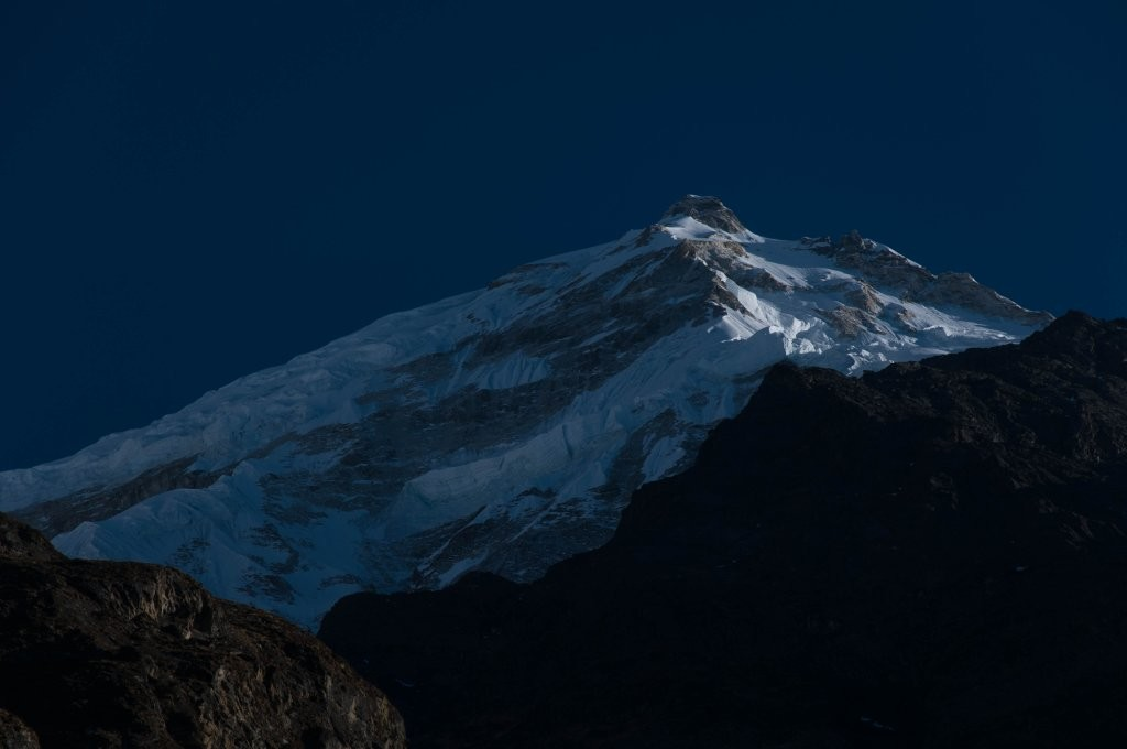 Face sur du Langtang Lirung (7240m)