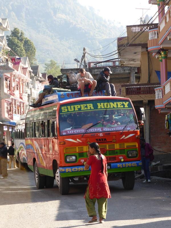 Bus Népalais.