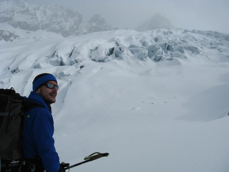 Front de sérac du glacier du Trient