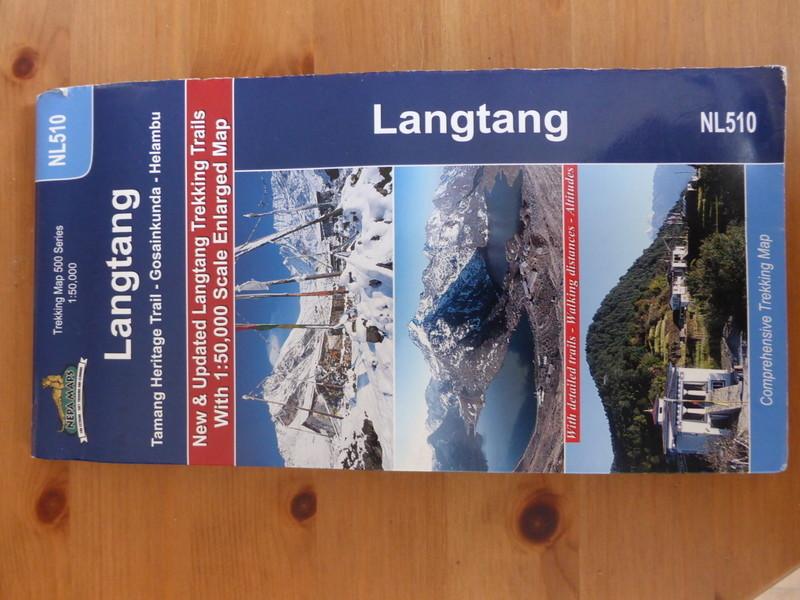 Carte utilisé pour le trek.