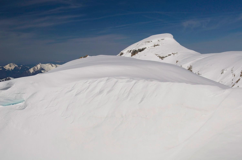 bossetan et un tas de neige