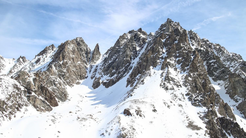 Col de l'Epée, depuis le Beaufort, 29 mars