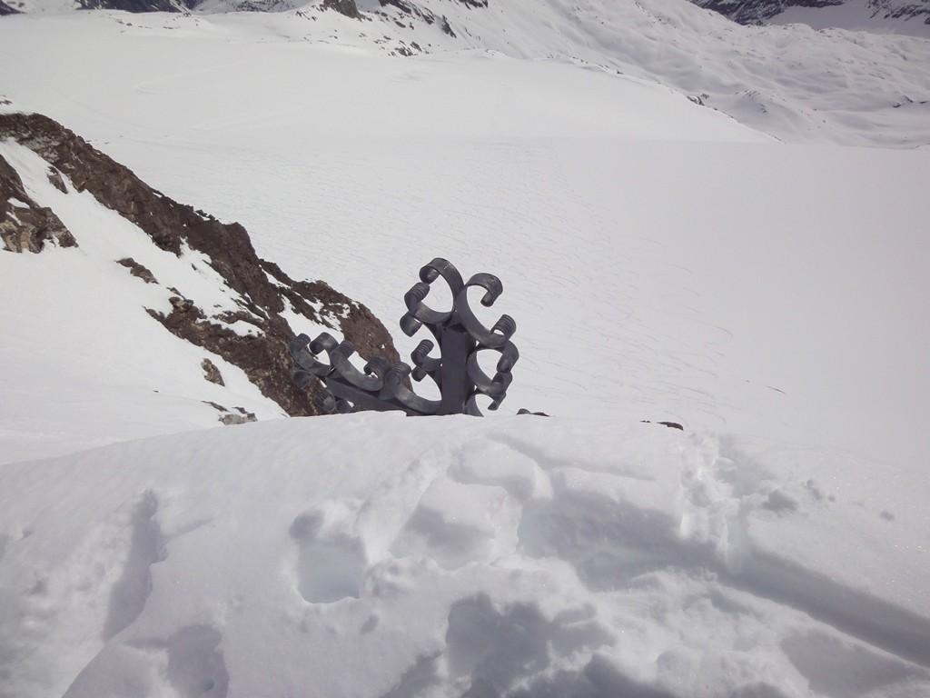 Croix du sommet du Wildhorn