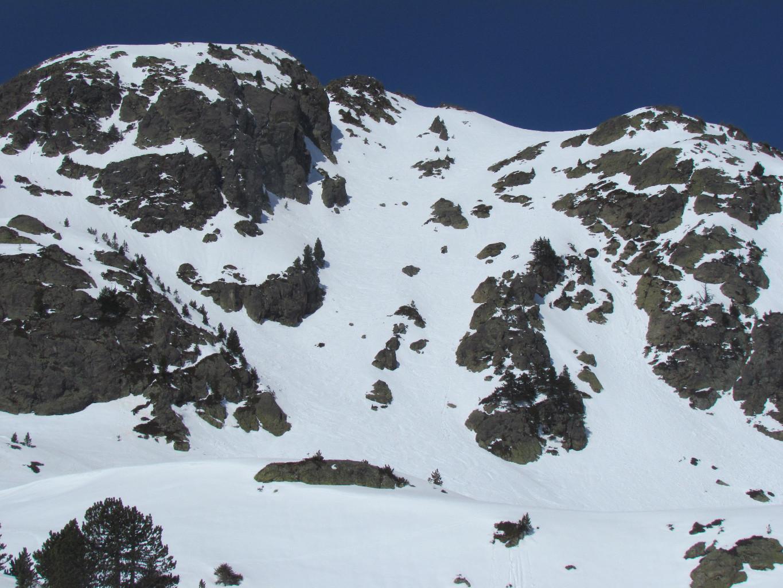 Descente du Grand Eulier ( versant E )