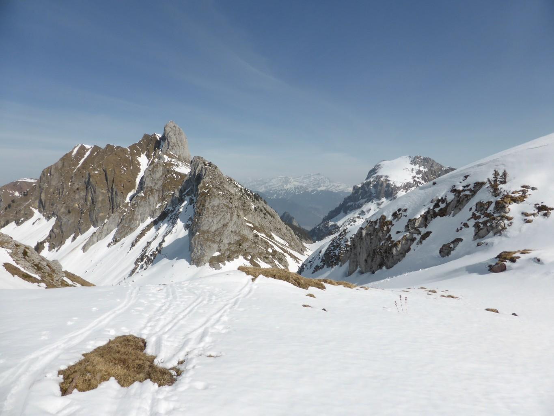 Mont Gardy et Chambairy en montant au col d'Ugeon