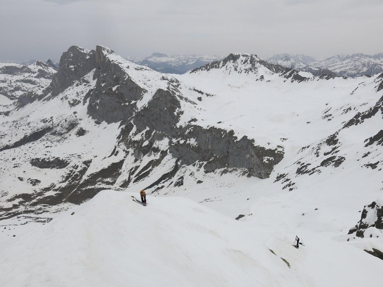 Au sommet du Schollberg, au fond le Schijenstock