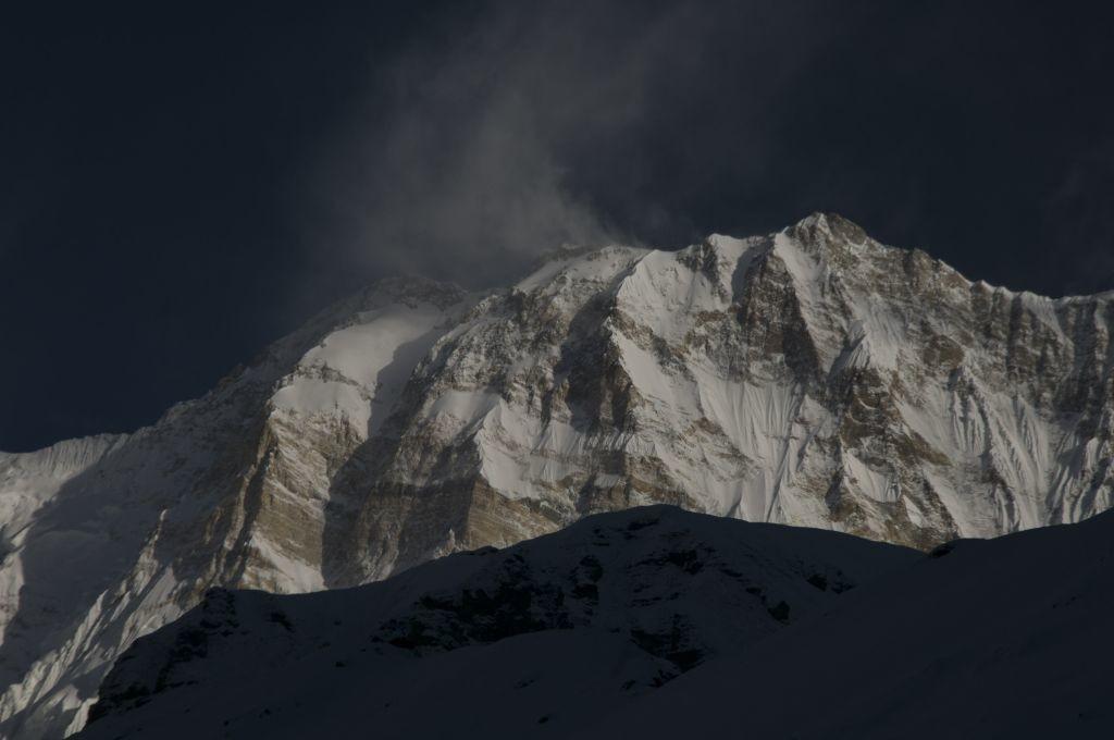 Annapurna I, face sud