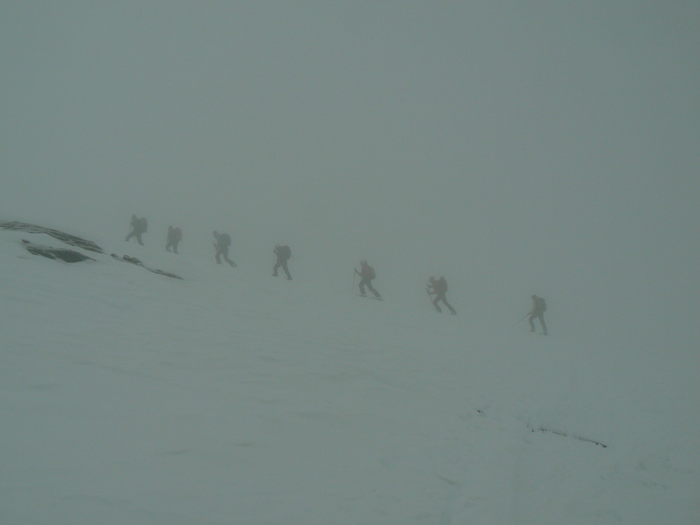 salita  = nebbia