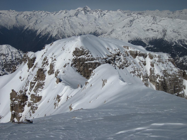 cima Brenta Ovest e la cresta