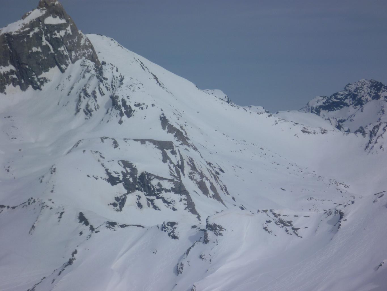Versant SW de l'Epaule du Pic d'Asti