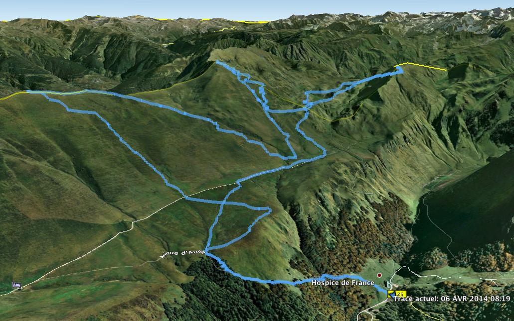 La trace GPS
