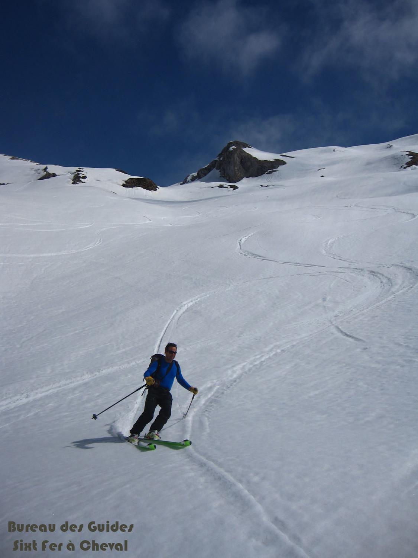 Ski de printemps pour Gilles