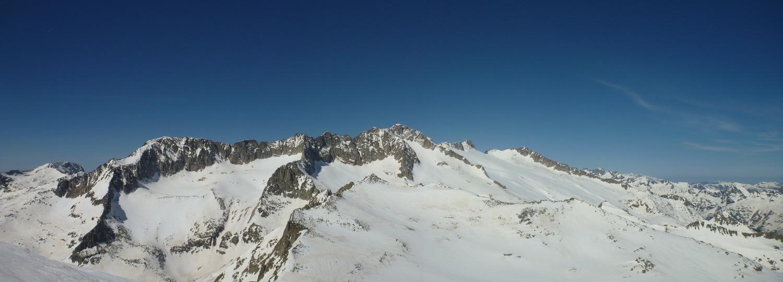 Panorama Massif Aneto-Maladeta