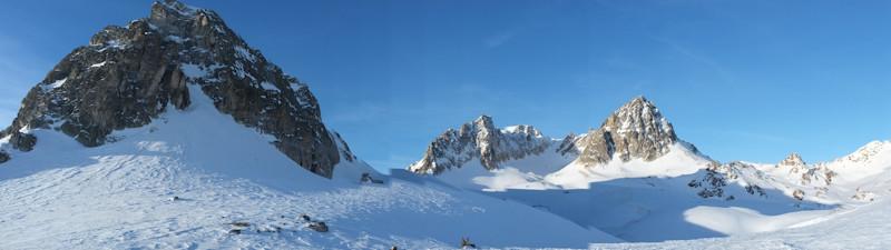 Cheval Blanc, Mont et Pic Thabor