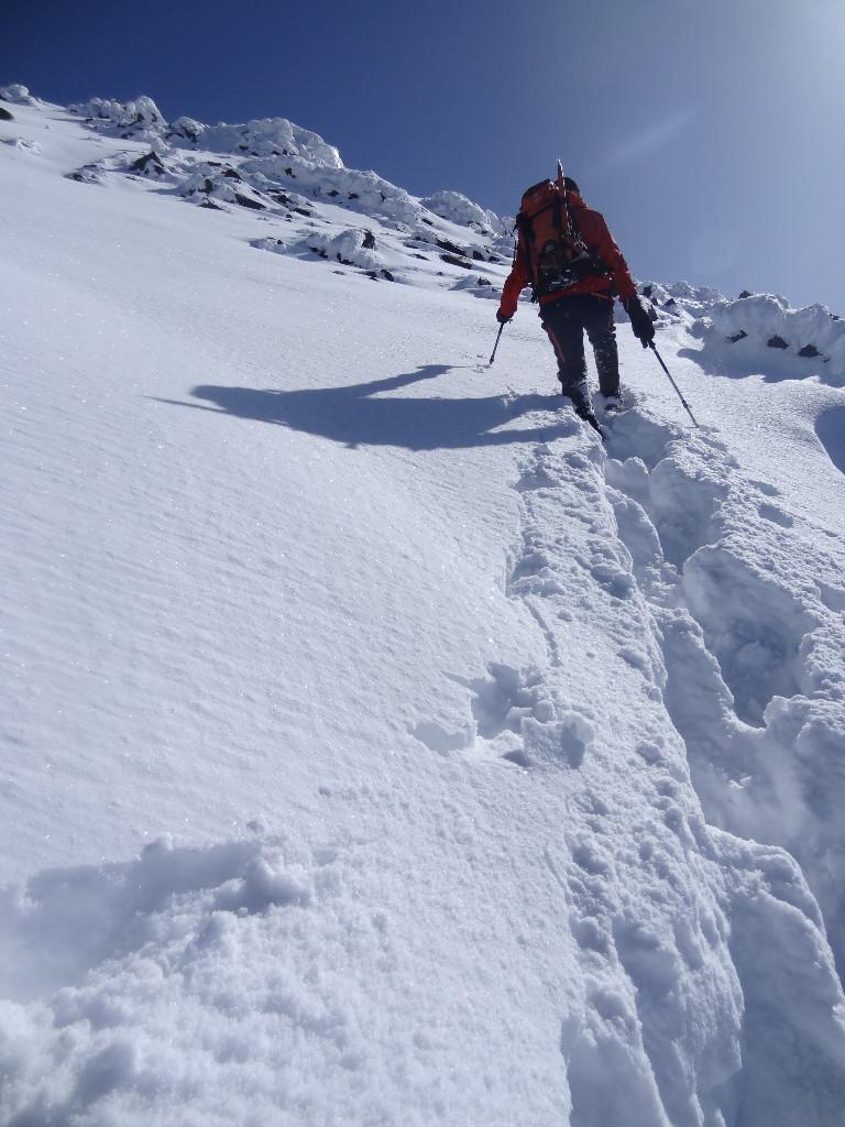 on laisse une trace.. vers 4700m