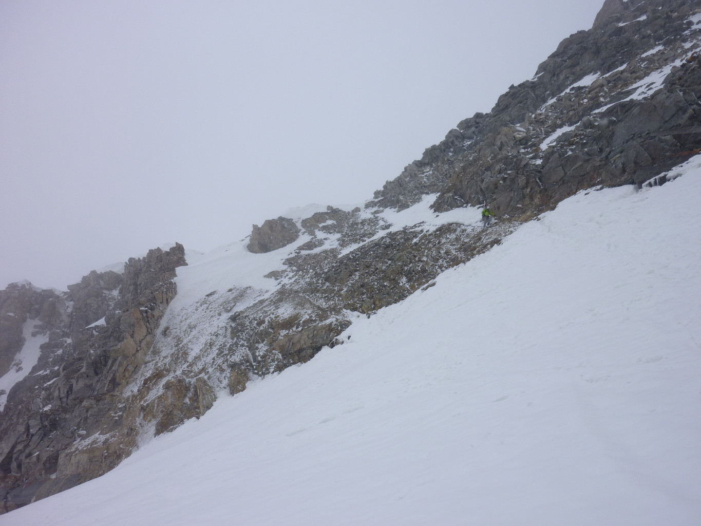 col du grand Neyron, versant S