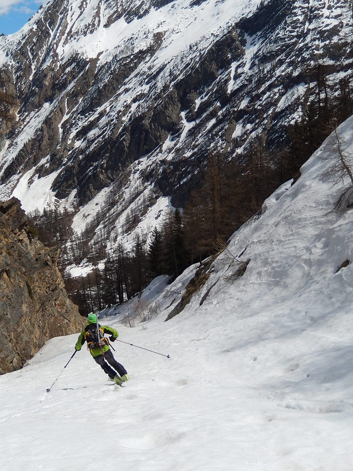 Ultime curve nel canyon