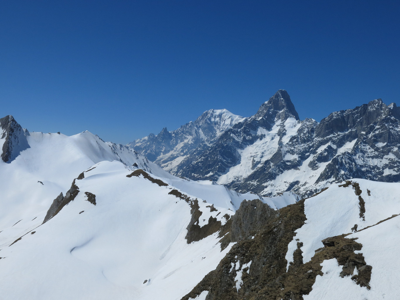 Mont-Blanc et Grandes Jorasses