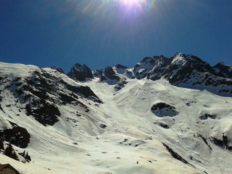 panoramica sulle cime del druet