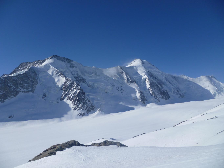 Face N du Drieckhorn à l'Aletschhorn