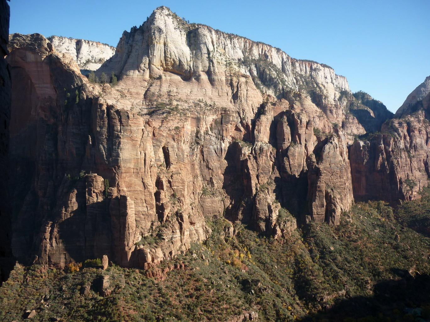 le superbe canyon de Zion