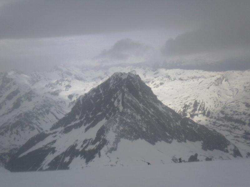 Hübschhorn depuis Breithornpass