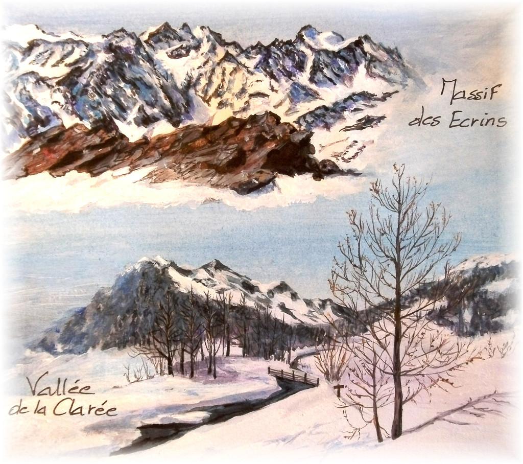 Vallée de La Clarée et Massif des Ecrins