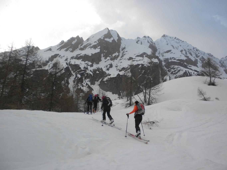 Montée du Val Torta