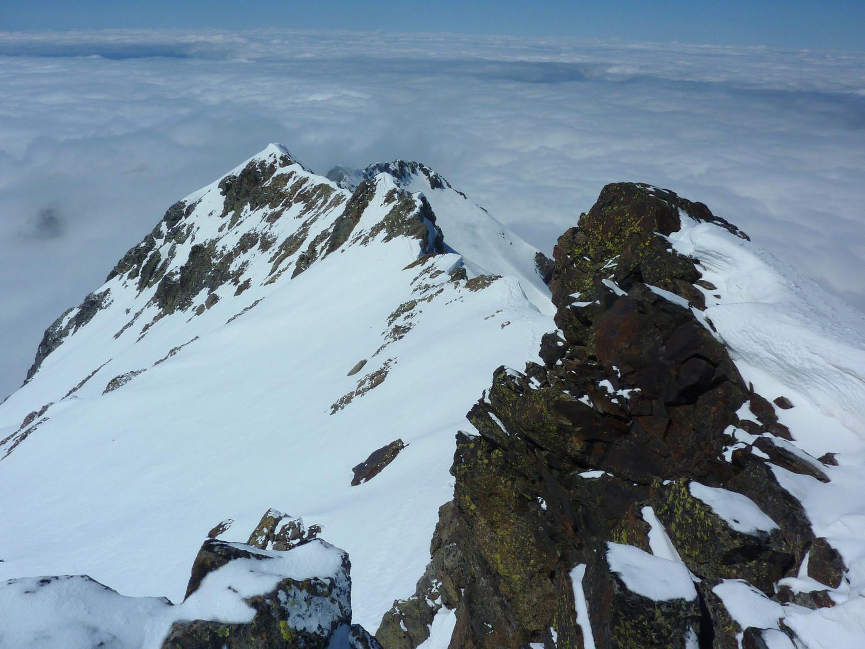 Arête Pic du Loup - Grande Lance de Domène