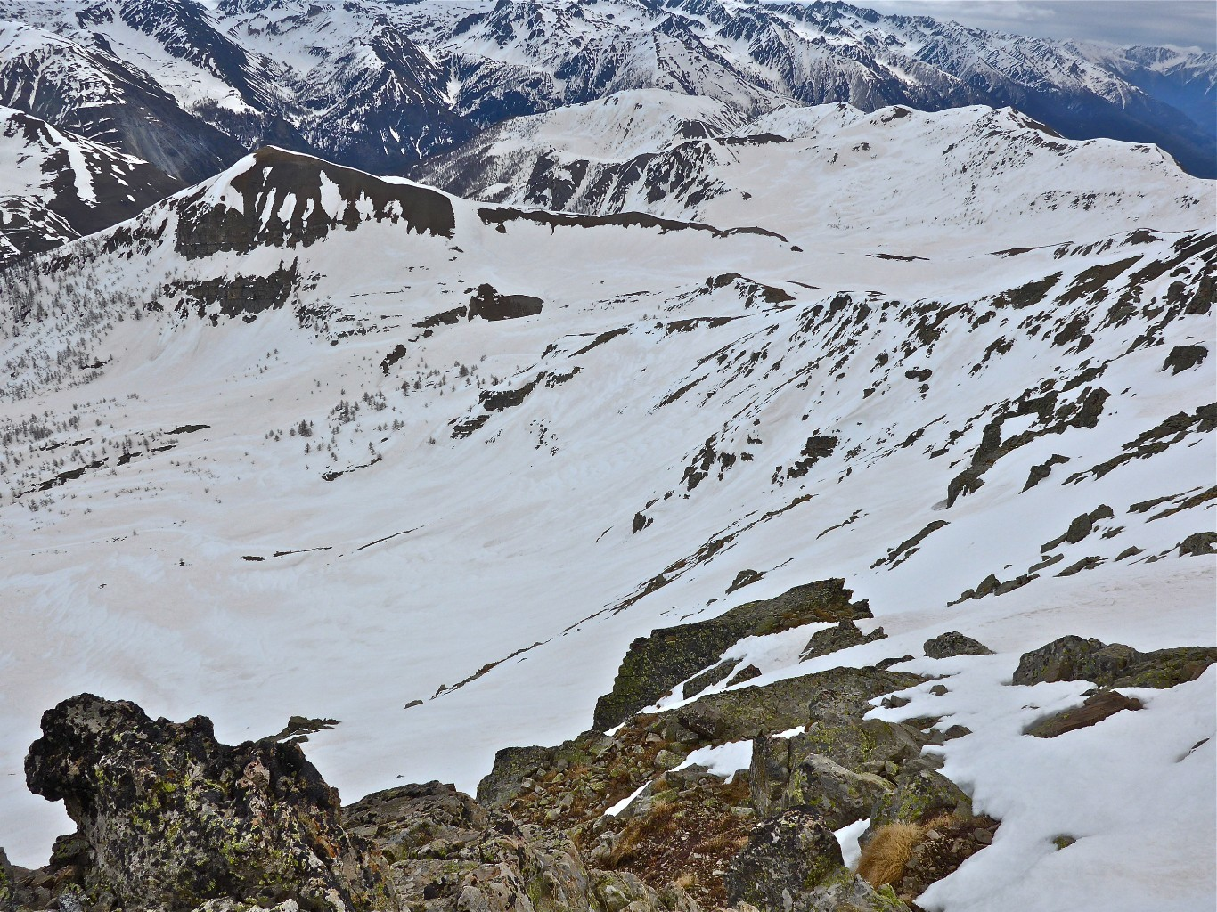 Ma descente sur L'Alpe.