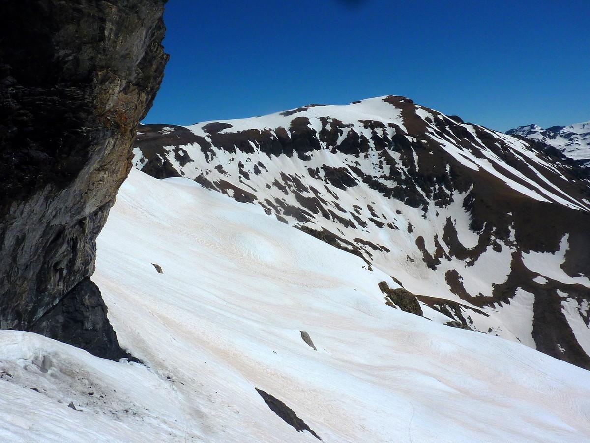 Dans la descente vers 2500 m