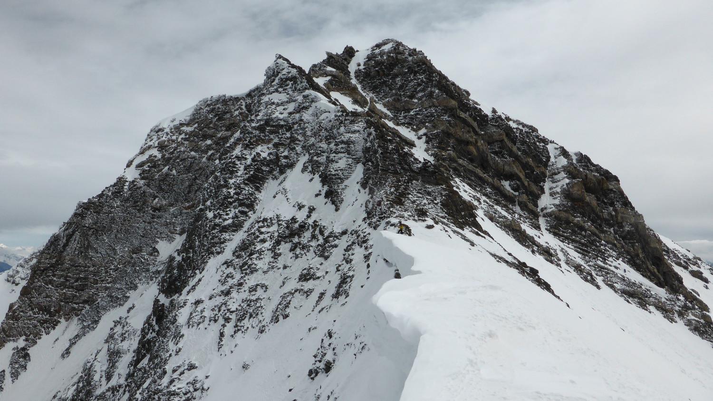 Aiguille de l'Epaisseur, vue du col des Sarrasins