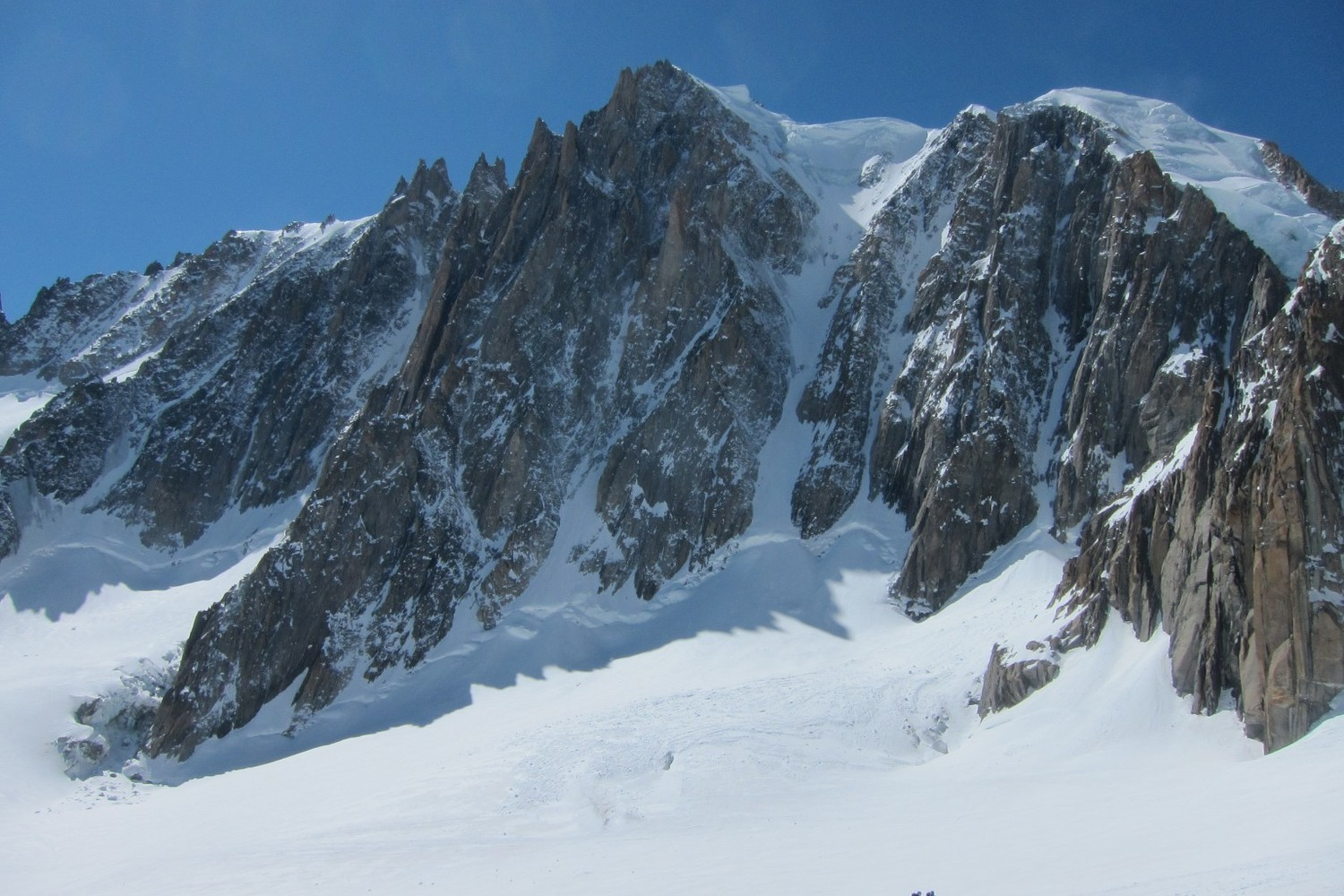 Tacul from vallé Blanche
