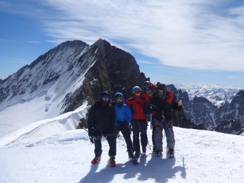 J5 - au sommet du Dôme des Ecrins